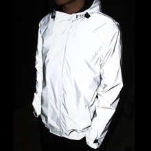 Unisex waterproof outdoor sports riding reflective jacket for night <strong>safety</strong>