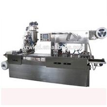 Automatic plastic cup form fill seal machine for cheese, honey
