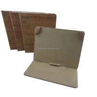 eco-friendly natural cork case for ipad