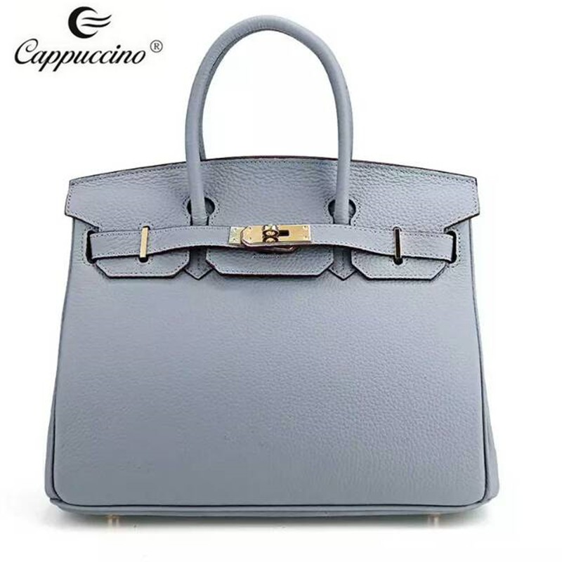 The Latest Design branded Genuine Leather hand bag/designer hand bag