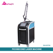 New 755nm Picosecond laser picosure laser for all pigment pigmentation nevus removal