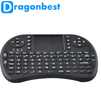 2.4G Wireless Mini Rii i8 keyboard and Fly Air mouse Touchpad for M8 CS918 MX MX3 MXIII MXV TV