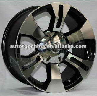 High quality car alloy wheels white with low price