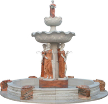 Hot sale luxury horae outdoor stone fountains for sale