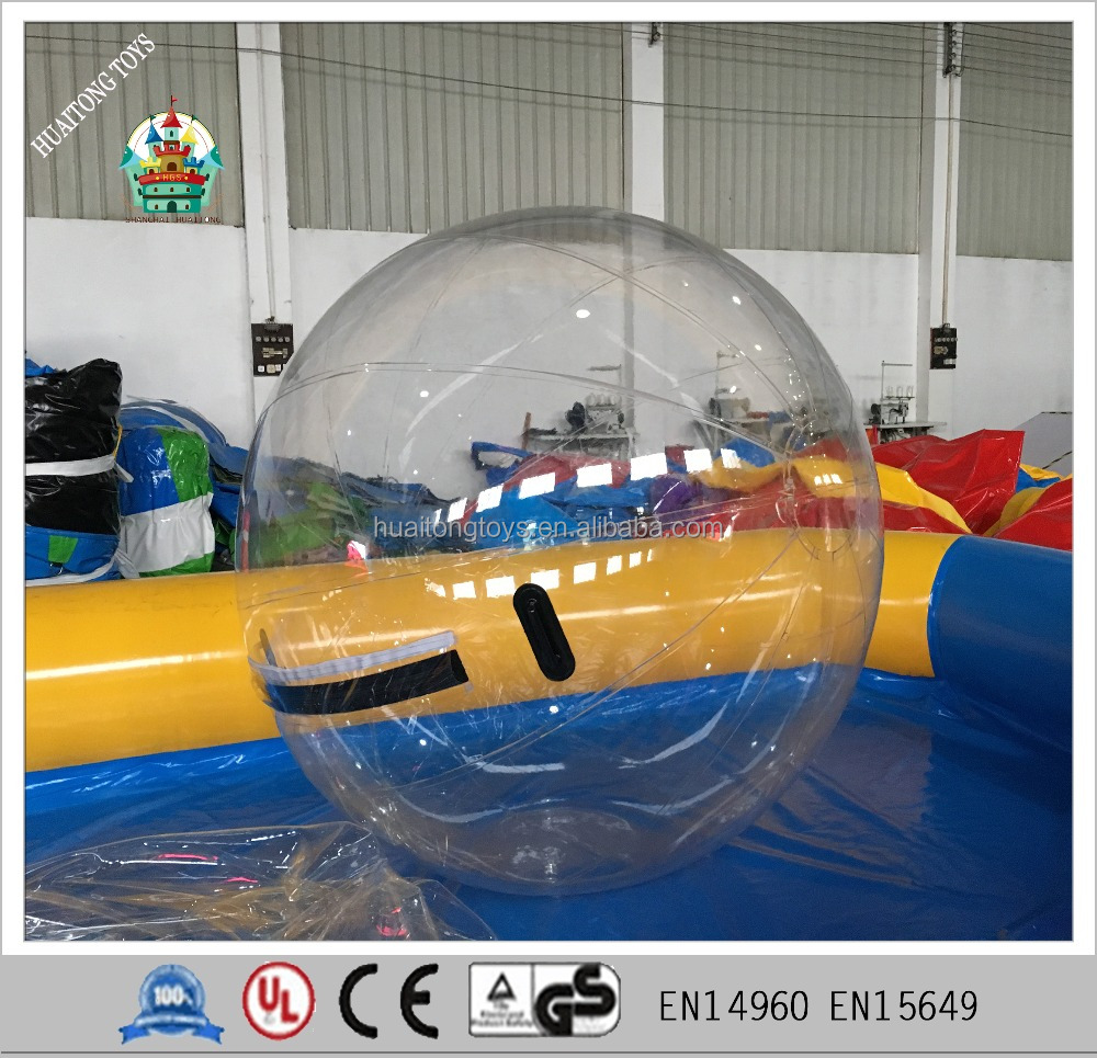 2m transparent inflatable dancer paly ball air water walking ball for sale