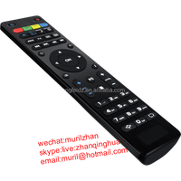High Quality Black 45 Buttons network player REMOTE CONTROL the specific for MAG250/254 to Europen, Greece market