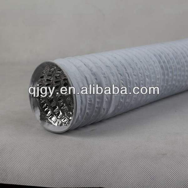 Flame resistant new products nylon duct air hose black pvc hose