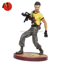 Mini injection plastic toys soldier collections