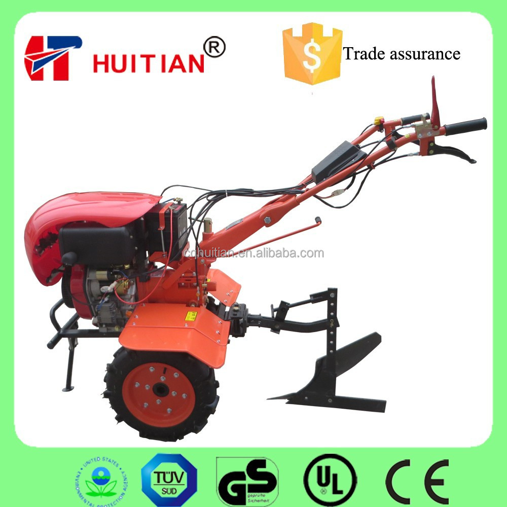 HT105FE 6HP Used Mini Agricultural Tractors With Plow