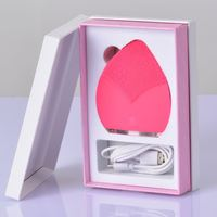 Built-in lithium beauty products wholesale face cleaning brush