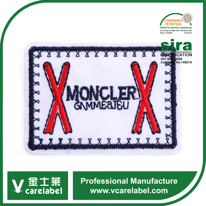 China supplier wholesale cheap high quality decor soccer club embroidery patch