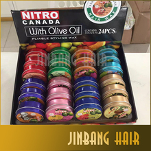private label brand hair pomade wax nitro hair pomade fruit fragrance style hair pomade wax