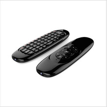 Manufacturer supply 2-IN-1 Smart Wireless 2.4GHz Air Mouse Handheld Keyboard Combo RC11