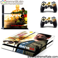 Self-adhesive PVC Decal Vinyl and Customized Design Skin Sticker For PS4 Game Accessories