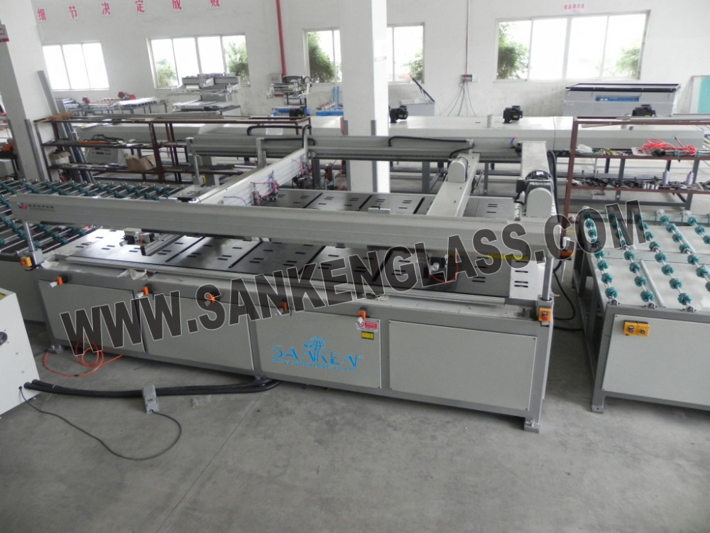 Automatic Silk Screen Printing Machine For Glass Printing Line