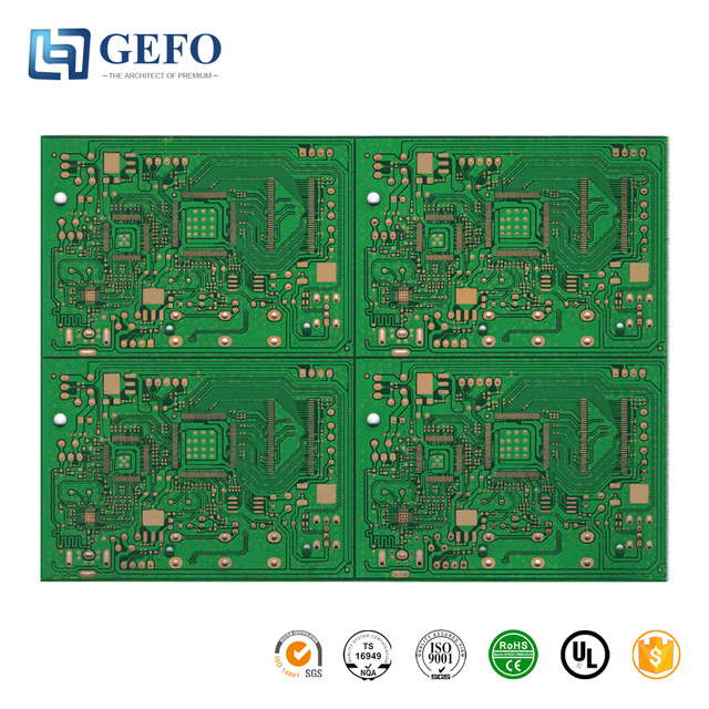 Immersion Gold/Silver/Tin 94V0 RoHS FR4 Air Cooler PCB Board