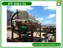leather machine rotating pp drum
