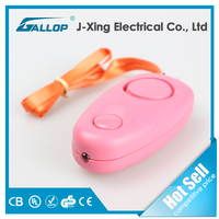 New Personal Alarm Anti-thief Loud Speaker with Flash Light JX-680