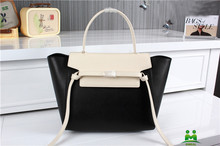 high quality white and black branded name handbags women original leather totes C2-96 fast shipping dropship