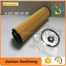 Auto Lubrication System high quality Oil Filter A 271 180 00 09 for MERCEDES BENZ