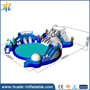 Giant Inflatable Water Slide Jumper Water slide Amusement Park