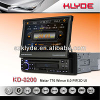 7inch digital screen,800*480pixes,1Din Car DVD with 3D UI