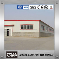 Hot Sale Good Painting Corrosion Proof Industrial Steel Structure Building Warehouse Workshop In India