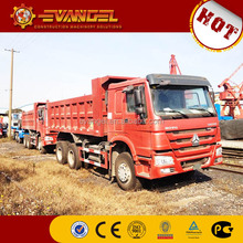 China howo single axle dump truck 336 horsepower for sale
