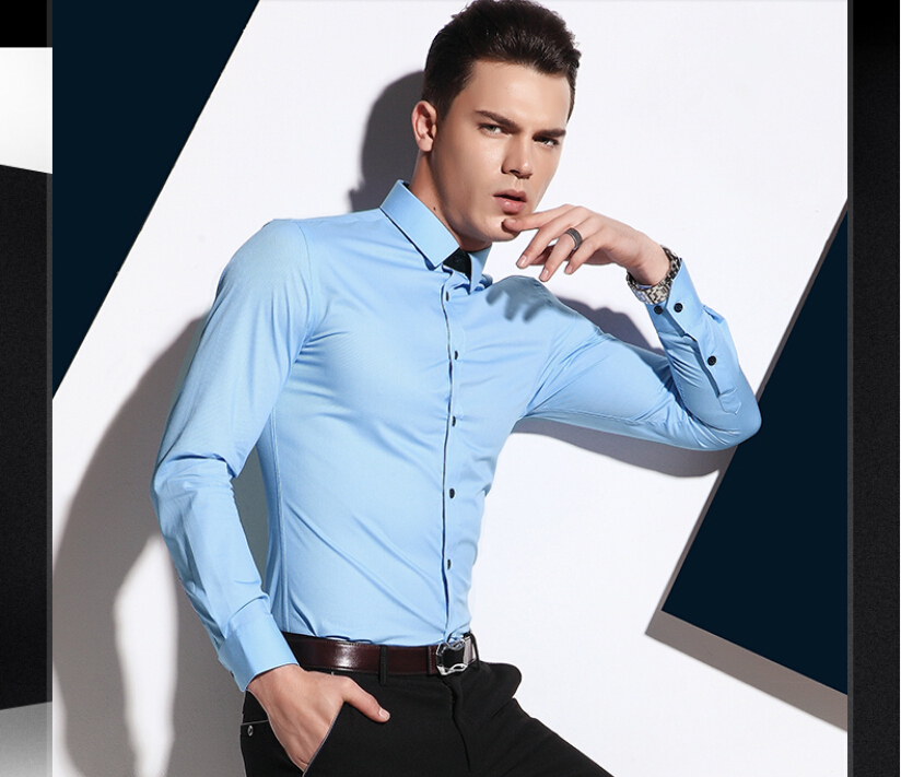 Wholesale factory price oem cotton formal full sleeve high for High end mens shirts