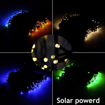 solar camping string lights led Outdoor for Gardens