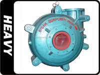 industrial cutter suction high pressure top quality sand suction slurry pump