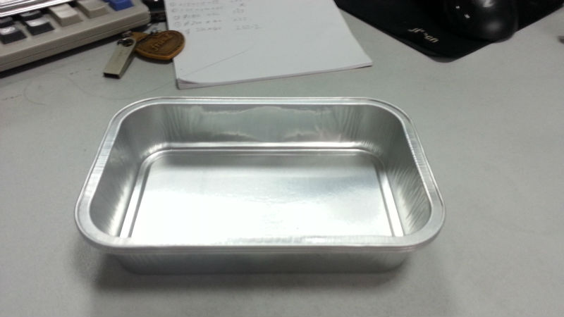 Disposable Food Warmers ~ Disposable airline food warmer tray view