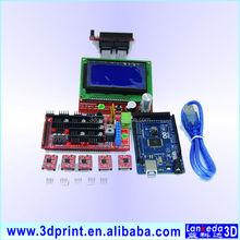 High quality 3D control board kits Ramps1.4 Mega2560 A4988 heatsink LCD12864