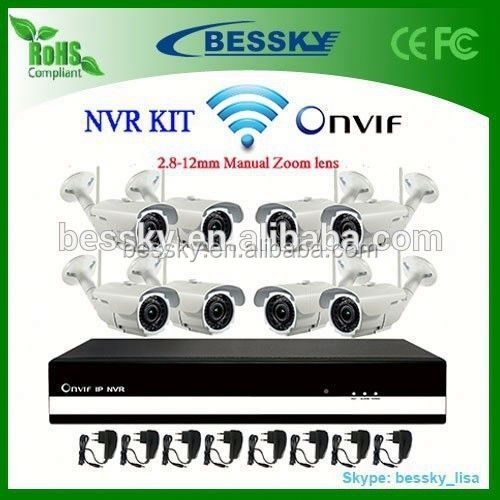 8CH wireless camera NVR KIT,new products looking for distributor,h.264 mega pixels ip camera 720p