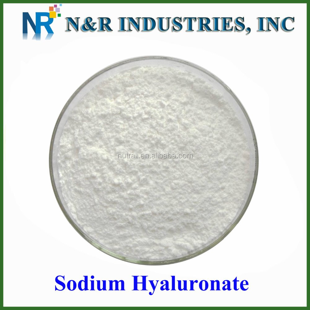 High purity hyaluronic acid powder/Sodium hyaluronate 95%/Hyaluronic acid