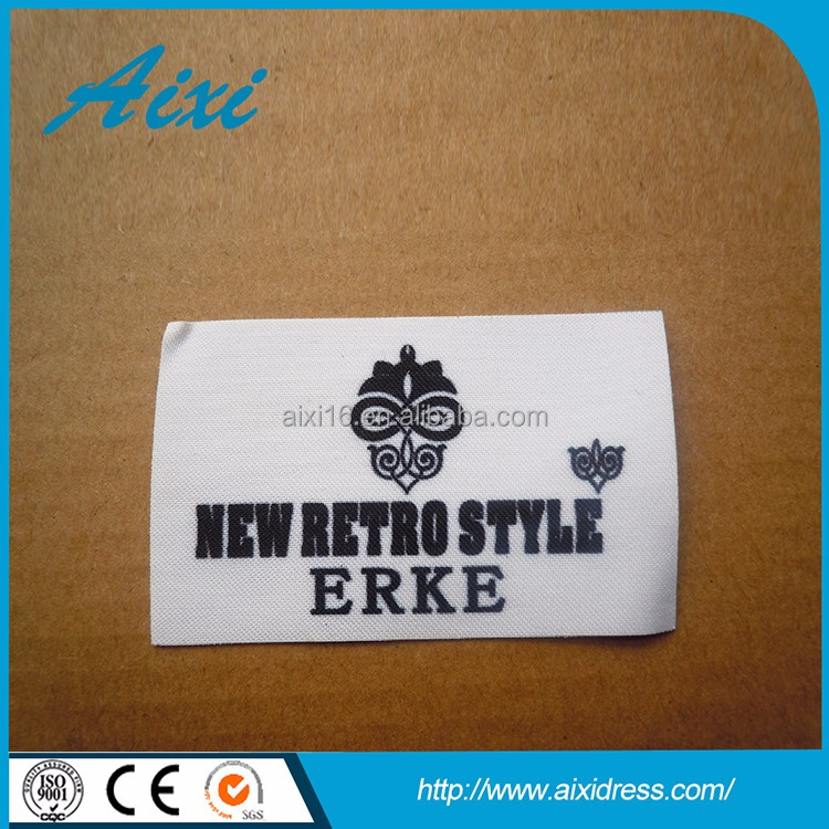 Rubber leather label embossed logo custom embossed leather label garment label