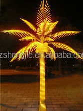 artificial coconut led lights outdoor light up tree branches