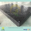 heavy duty plastic ground cover mat/ floor mat, uhmwpe drilling rig floor mat