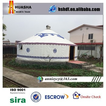 Modern Waterproof Mongolian Yurt for Living Room
