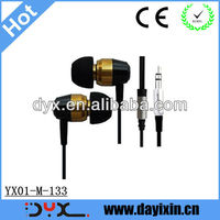 2013 Jack lack dust cover earphones with high quality cheap price