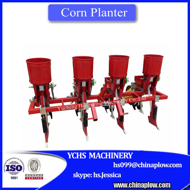 Agricultural machinery corn seeder maize planter with separate fertilizer box