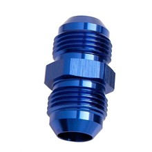 AN4 6 8 10 Male Double threaded Joint External Thread Pipe Connector Hose Adapter Reducer