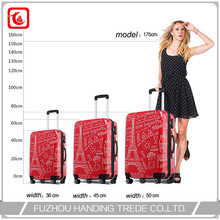 Hot New Customize 4 Spinner Wheel Luggage , Wholesale Luggage Big Lot