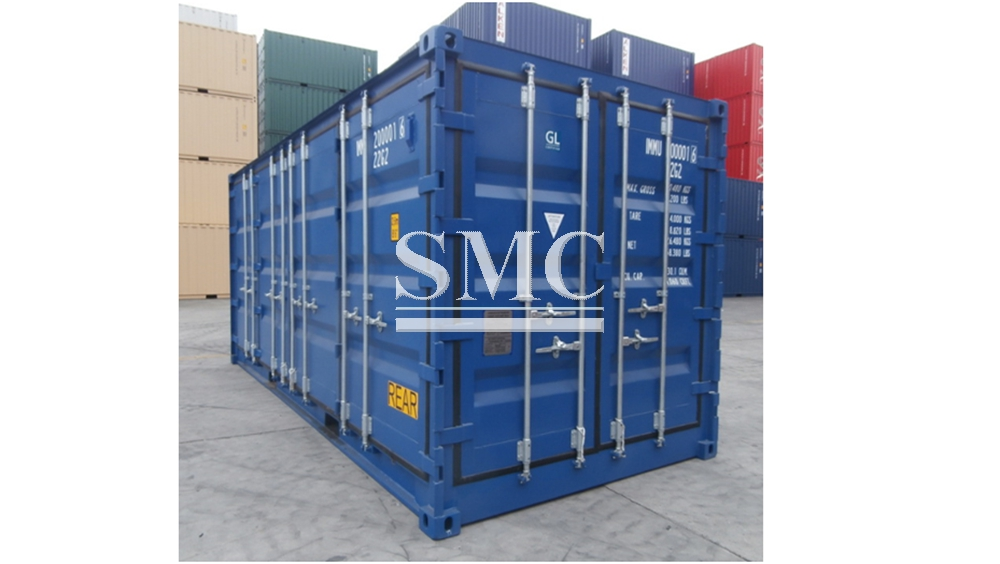 Container,40 foot refrigerated container,curtain side container