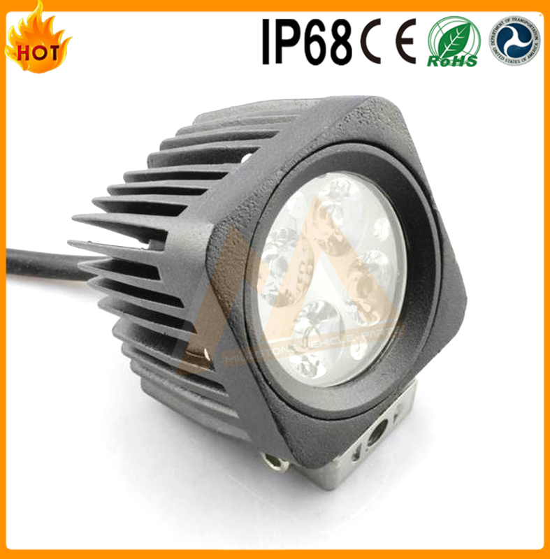 4X4 Car Accessories Supply 9~32v 12w Led Driving Light Offroad led work light