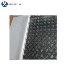 prices of 6mm thick non-slip aluminum / aluminium metal tread sheet plate for bus/boat/ship
