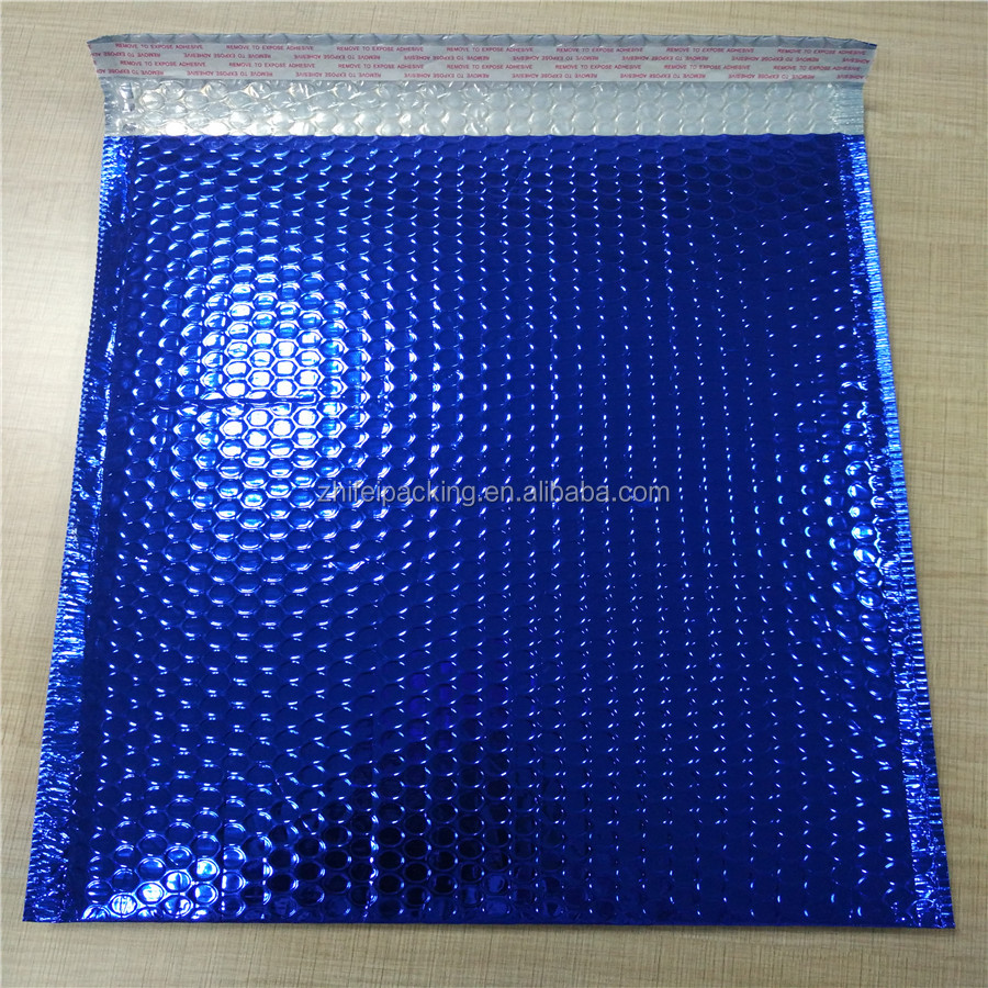 Shock Proof Metallic Bubble Mailer Bag