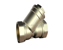 S4301 Brass Y Type Strainer check valve /Brass filter valve y strainer