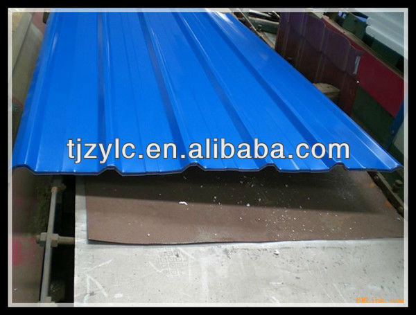 SPCC Shingle Type Galvanized Roof Tile