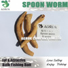 Agrok High Quality Fishing Bait Freeze Dried Spoon Worm
